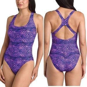 Speedo Ultra Back Athletic Training Swimsuit NWT